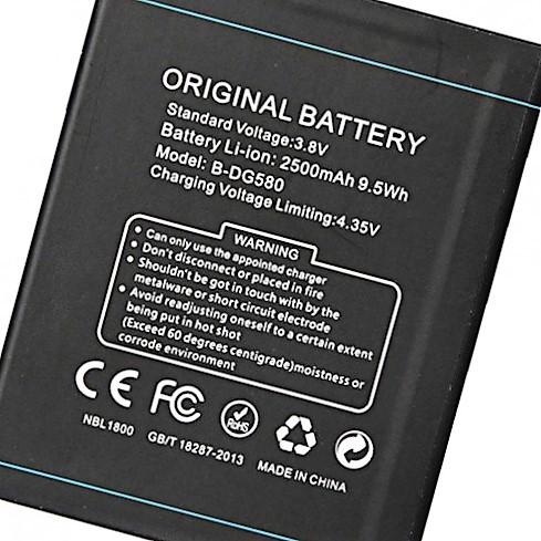 Аккумулятор батарея Doogee B-DG580 /G580