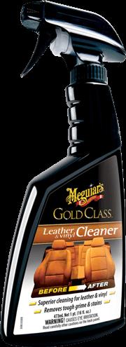 Meguiar's  GoldClass Leather & Vinyl Cleaner Очиститель для кожи и винила  473 мл