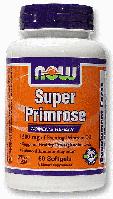 Масло примулы вечерней, энотеры, Now Foods, Super Primrose, 1300 mg, 60 Softgel