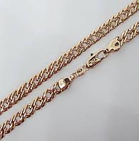 Киев. Цепочка плетение Двойной ромб H-5 мм длина 50 см под советское золото a75a54c51beb2