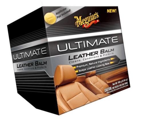 Meguiar's  Ultimate Leather Balm Бальзам для кожи 160 г