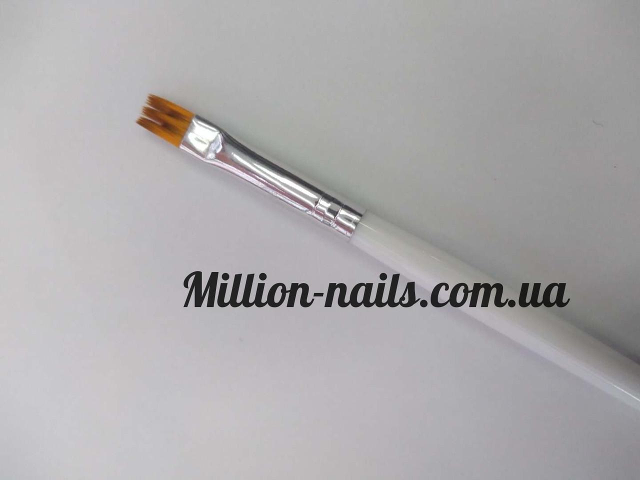 Кисть для дизайна ногтей(прямая)