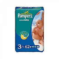 Подгузники Pampers active baby 3 (4-9 кг) 64шт.