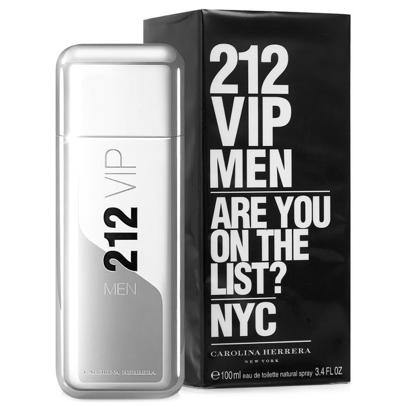 Чоловічий аромат Carolina Herrera 212 Vip Silver