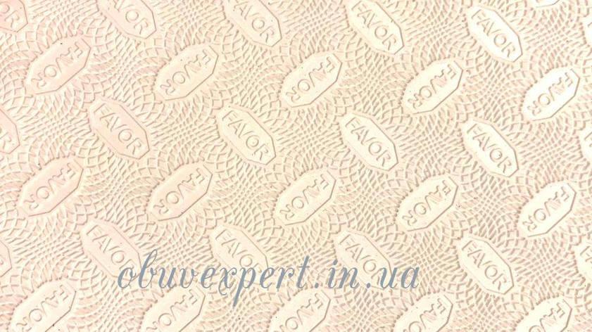 Гума набоєчна FAVOR, р. 570 * 380 * 6 мм, кол. білий, фото 2