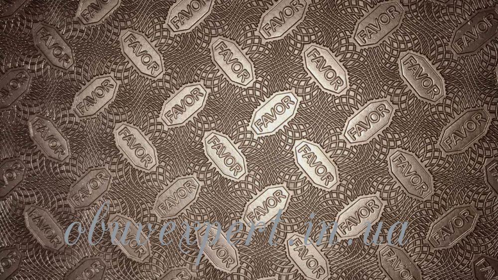 Резина набоечная FAVOR, р. 570*380*6 мм, цв.коричневый