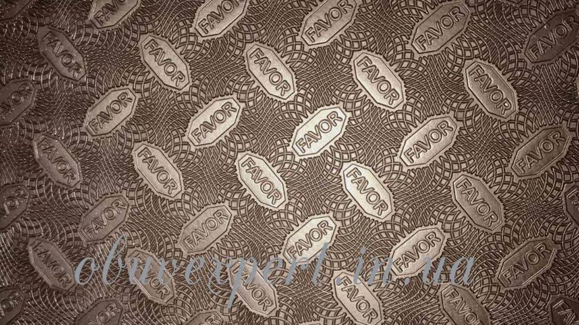 Резина набоечная FAVOR, р. 570*380*6 мм, цв.коричневый, фото 2