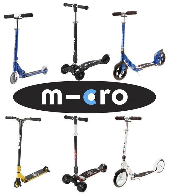 Самокаты Micro для детей от 5-8 лет и взрослых