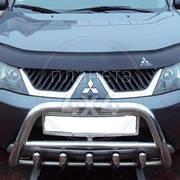 Защитная дуга (кенгурятник) Mitsubishi Outlander