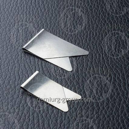 Зажим для бумаг металлические под заказ, фото 2