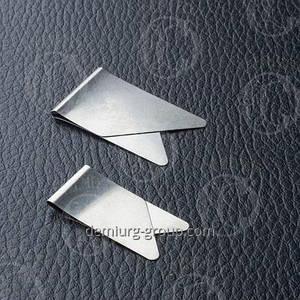 Зажим для бумаг металлические под заказ