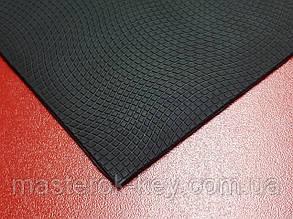 Полиуретан подметочный Волна 300*150*2мм цвет черный