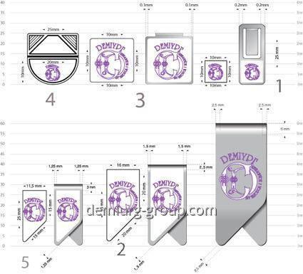 Зажимы для бумаг (образец), фото 2