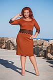Ошатне батальне сукню в розмірах 50-56, фото 6