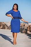 Ошатне батальне сукню в розмірах 50-56, фото 7