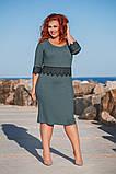 Ошатне батальне сукню в розмірах 50-56, фото 8