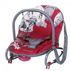 Кресло-качалка детская 4Baby Jungle Red