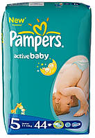Подгузники Pampers active baby 5 (11-25 кг) 44шт.