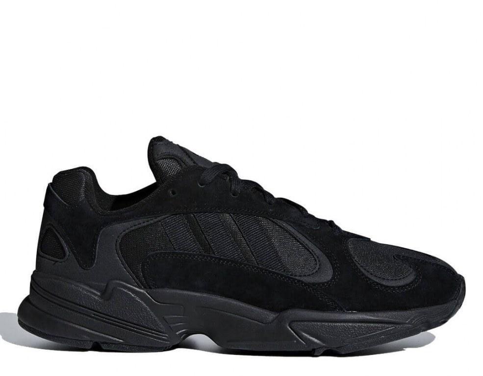 """Кроссовки Adidas YUNG-1 """"Black"""". Кроссовки адидас. Стильные кроссовки адидас."""