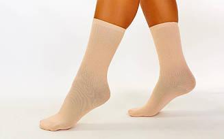 Носки для танцев телесные с подворотом CO-6261-1 (нейлон, спандекс, р-р XSL, UK-4-78