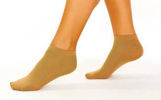Носки для танцев телесные CO-6260-1-M (нейлон, спандекс, р-р M, UK-13-3)