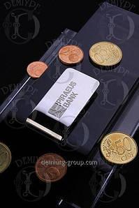 Зажим для денег с логотипом