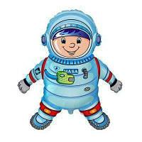 """Фольгированные шары мини-фигуры """"Космонавт"""""""