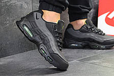 Мужские кроссовки Nike air max 95,черные с серым 44р, фото 3