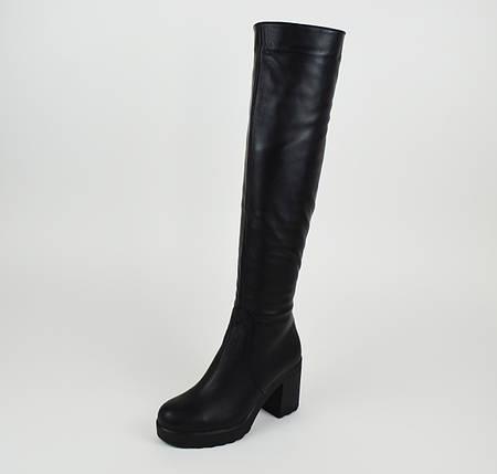 Высокие кожаные сапоги Kento 6207  продажа 37c3668a8e32a