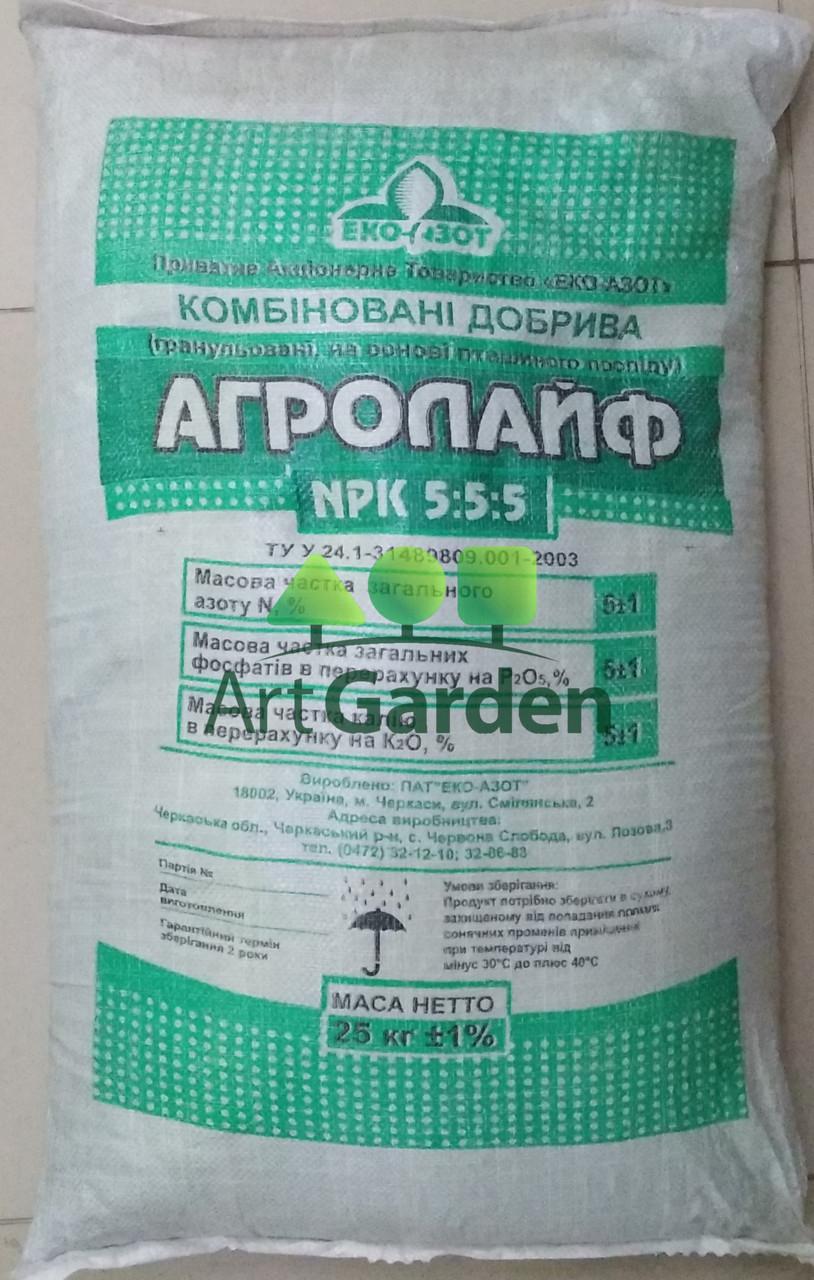 Удобрение Агролайф 25кг