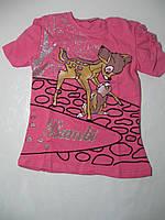 Трикотажная туника для девочек, размер 110 арт. 3484