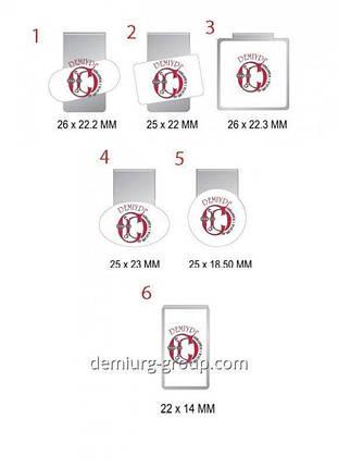 Зажимы для бумаг (образцы), фото 2
