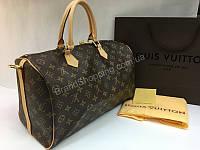 238c2a2e3ef7 Сумка (сумочка ) Louis Vuitton Speedy канва и кожа с номерным знаком арт  20159