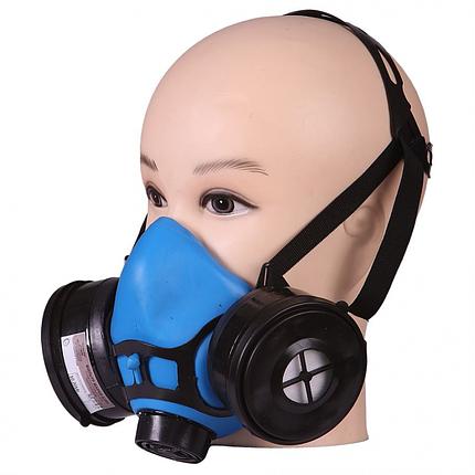 Респиратор газозащитный Исток-400 пыле (РУ-60М) А1В1Р1  (аналог ТОПОЛЬ), фото 2