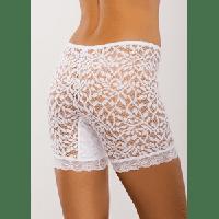 Панталоны кружевные Аfina 028 белый Afina, 4XL, Украина