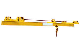 Однобалочный мостовой кран с ручным приводом