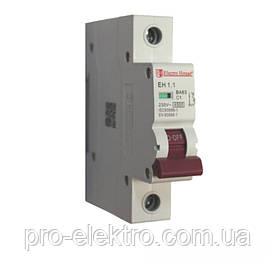 EH-1.1  Автоматический выключатель 1 полюс 1А