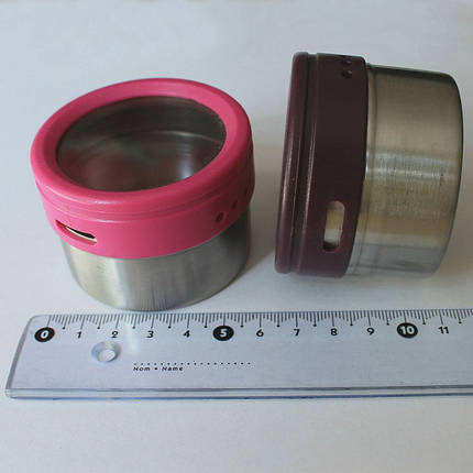 Комплект баночек для специй 6 предметов Herisson (EZ-0012), фото 2