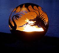 "Очаг - шар ""Дракон"", фото 1"