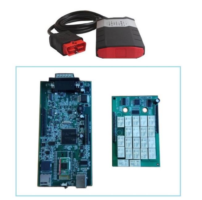 Мультимарочный Delphi сканер DS150E 3в1 OBD2 сканер диагностики авто