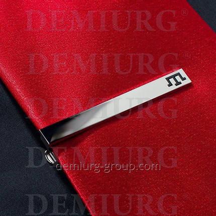 Зажим для галстука металлический, фото 2