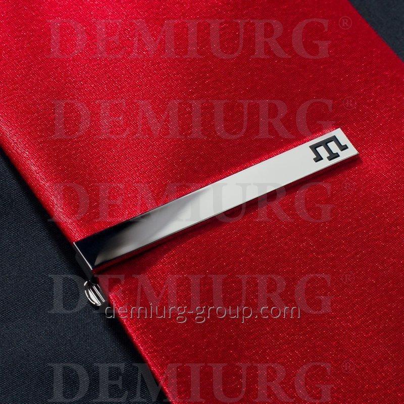 Зажим для галстука металлический