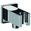 Подключение для душевого шланга с держателем Kern 0213 квадрат