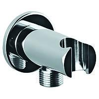 Подключение для душевого шланга с держателем Kern 0212 круглый , фото 1
