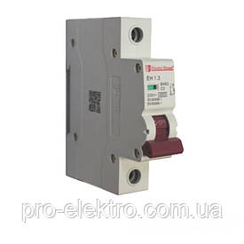 EH-1.6  Автоматический выключатель 1 полюс 6А