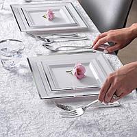 Видео-обзор одноразовых тарелок