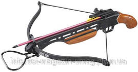 Арбалет Man Kung MK-150A1H пистолетного типа, деревянная рукоять, коричневый