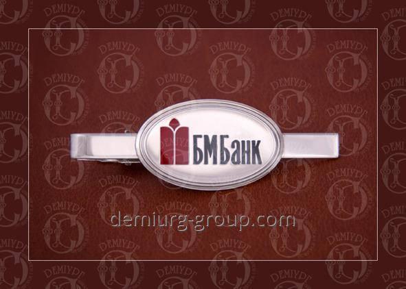 Зажим для галстука с логотипом, фото 2
