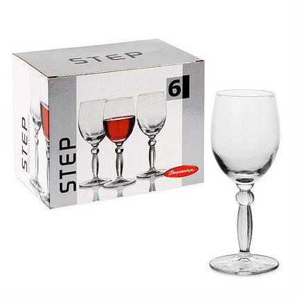 Набор бокалов для вина Pasabahce Step 215 мл 6 шт (44654), фото 2