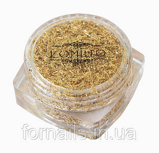 Komilfo Foil Stripes №01 Gold, (0,2 г)